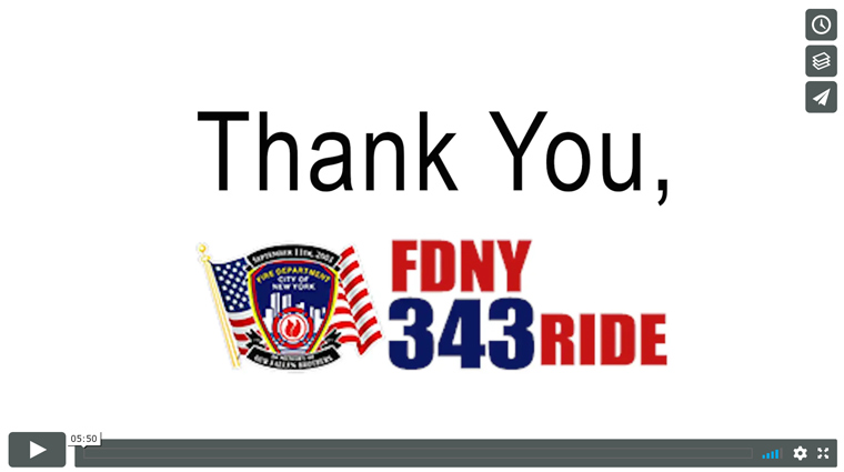 FDNY Thank You
