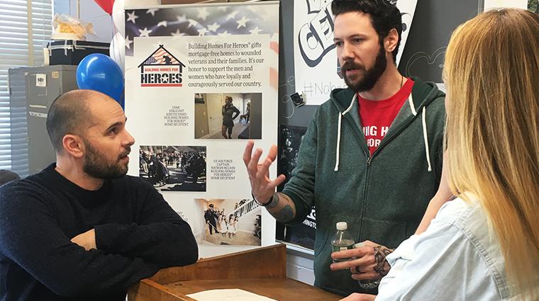 Students Raise Money For Veteran