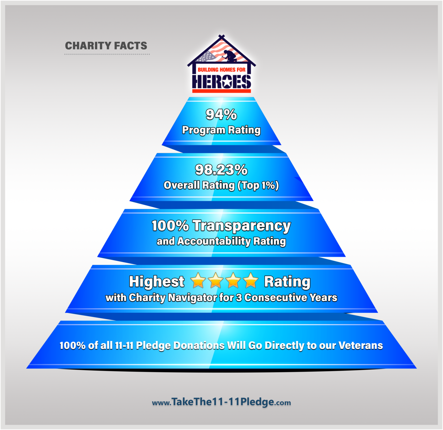 Charity Pyramid Facts