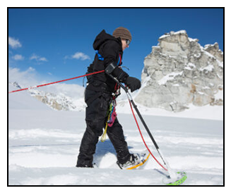 Kirstie Ennis on Mount Denali