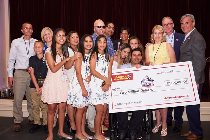 Advance Auto Parts 2018 Donation