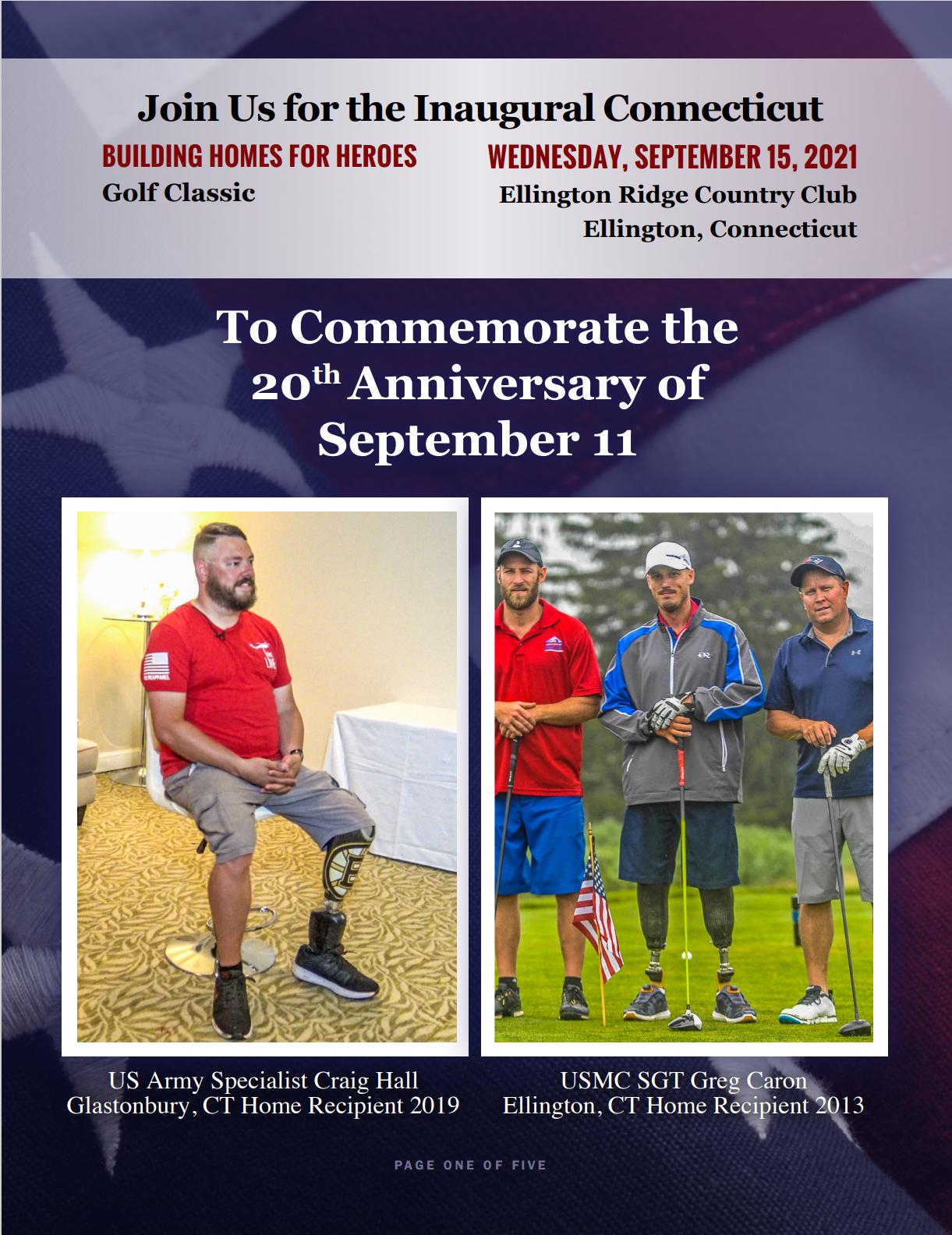 Inaugural Connecticut Golf Outing! @ Ellington Ridge Country Club