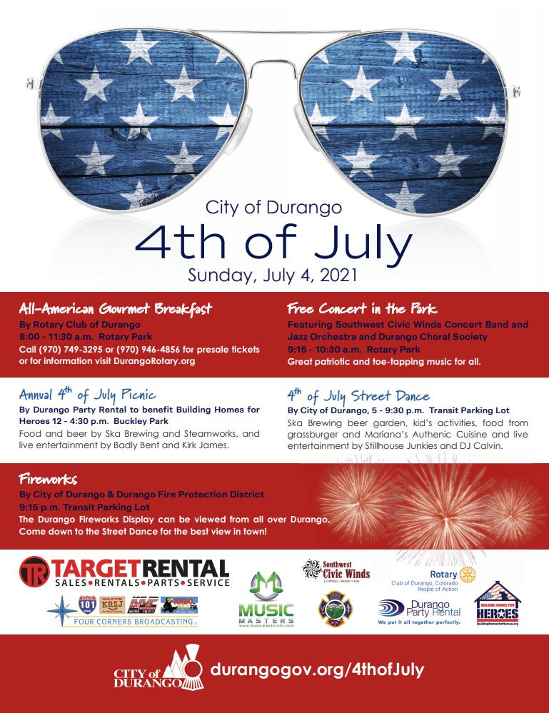 City of Durango - 4th of July! @ Durango, CO