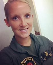 USMC Sergeant Kirstie Ennis