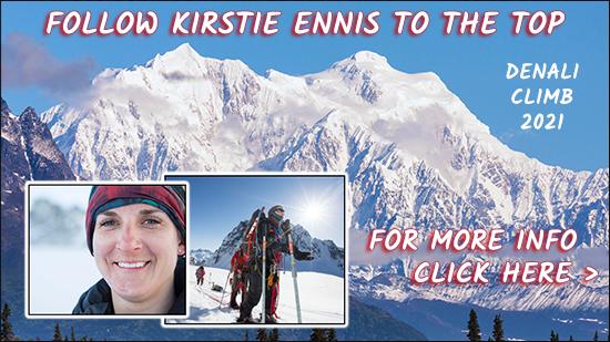 Kirstie Ennis Denali Climb