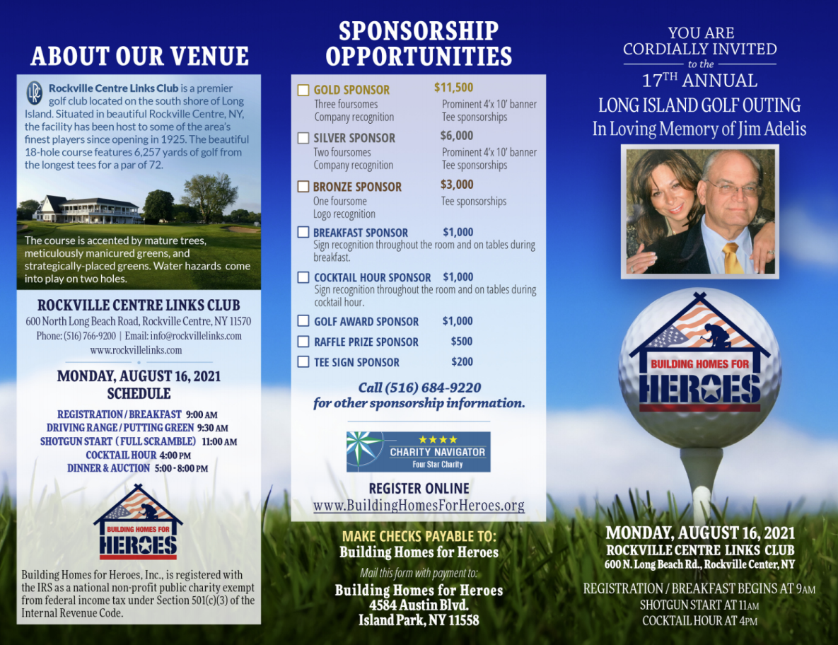 17TH ANNUAL LONG ISLAND GOLF CLASSIC @ Rockville Centre Links Country Club