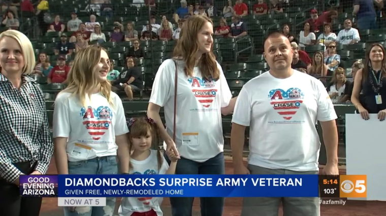 veteran receives mortgage-free home