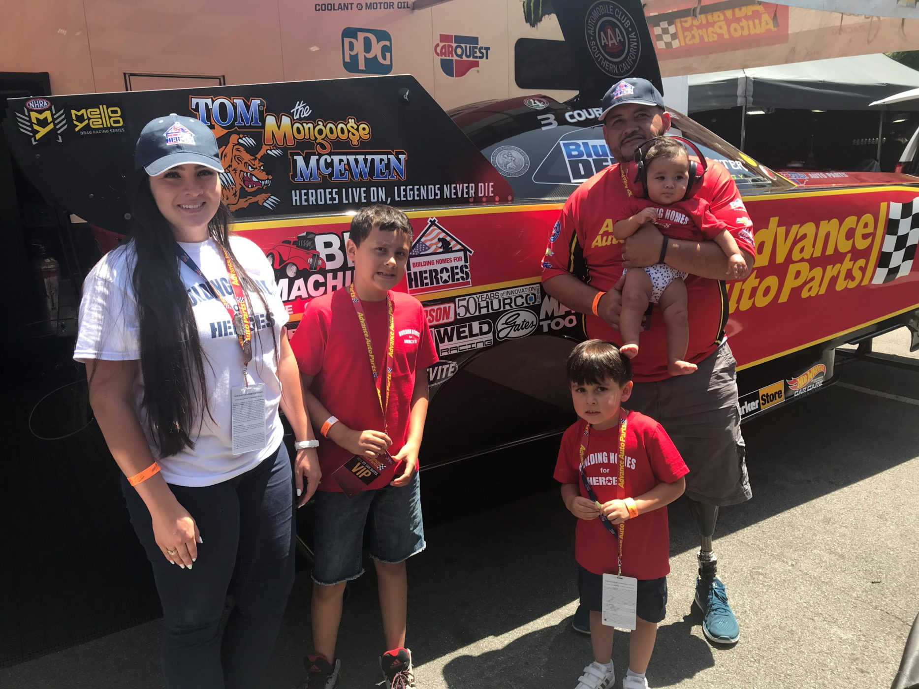 Advance Auto Parts Building Homes For Heroes